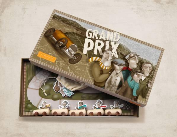 Družabna igra Grand Prix, 6+
