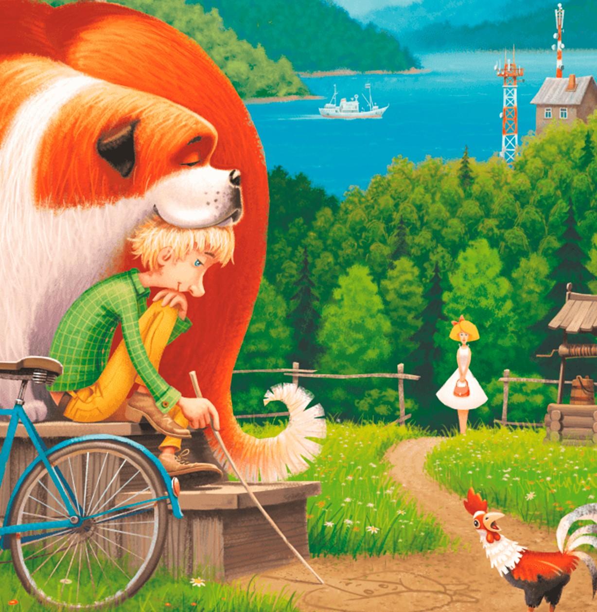 Lesena sestavljanka Summer fairy tale